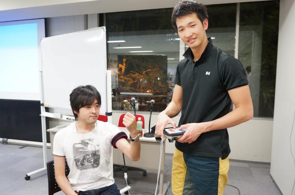 加圧トレーニングの準備:プロが教える!眼精疲労・肩こり改善イベント 〜加圧トレーニング体験付き〜