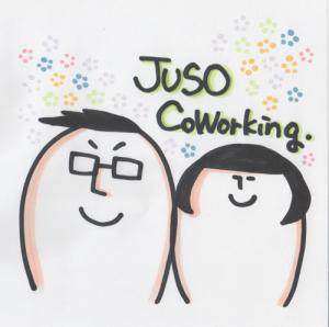 大阪のコワーキングスペース【JUSO Coworking】1