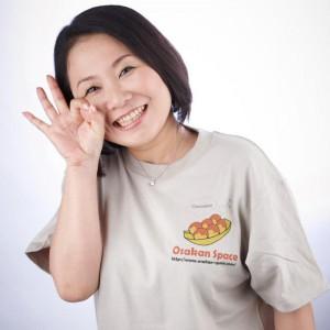 オオサカンスペース代表 大崎弘子?たこ焼き?