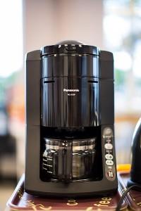 オオサカンスペース備品 : コーヒーメーカー(Panasonic NC-A55P-K)