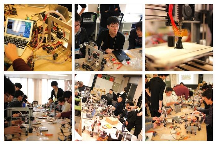 3Dプリンタ「を」自分で作って、学んで、持ち帰る人気のワークショップ大阪開催!