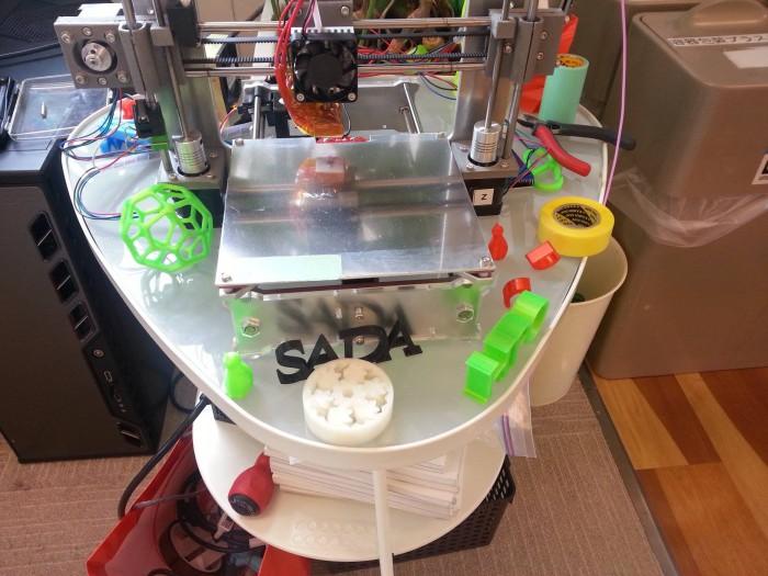 3Dプリンター周りの日常風景