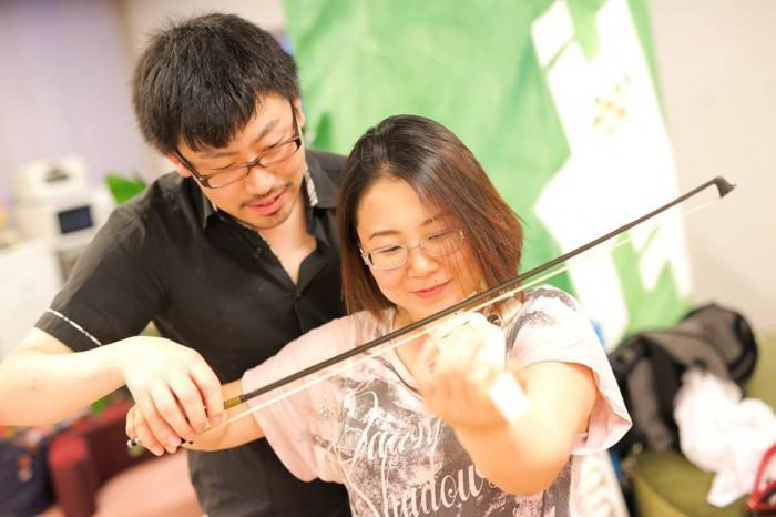 3Dプリンターで印刷したヴァイオリン