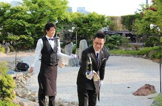 「セントレジスホテル大阪」でシャンパンサーベラ-ジュ