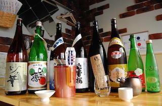 60種類以上の日本酒を提供する「日本酒のめるとこ」