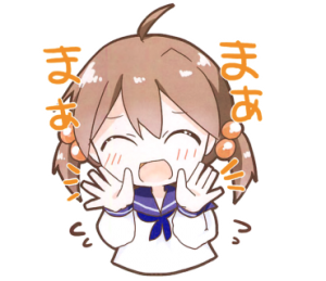グループで言い合いなどになったときに、みんなのメッセージをただ見守るだけではなく、まあまあと止められるようなスタンプにしました。(新見奈々 しんみなな 兵庫県立姫路工業高等学校 3年)